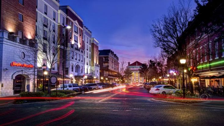 Gainesville florida a college town with big city appeal