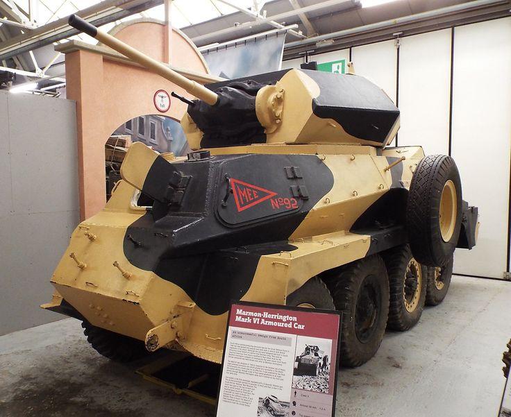 South African Marmon-Herrington Armoured Car 1942 Tank Museum Bovington
