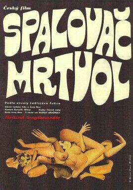 český film Spalovač mrtvol by A.Dimitrov (1968)