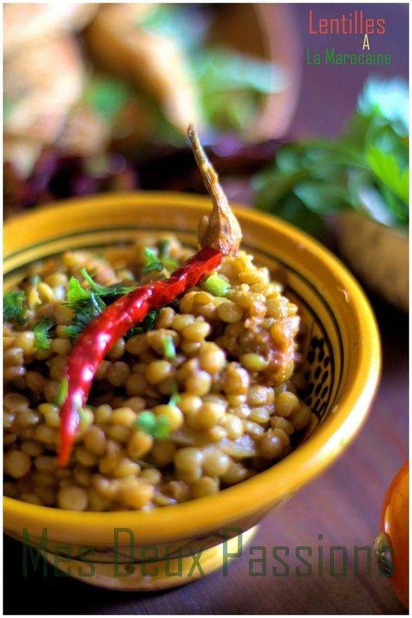 Lentilles à la marocaine - Maroc Désert Expérience tours http://www.marocdesertexperience.com