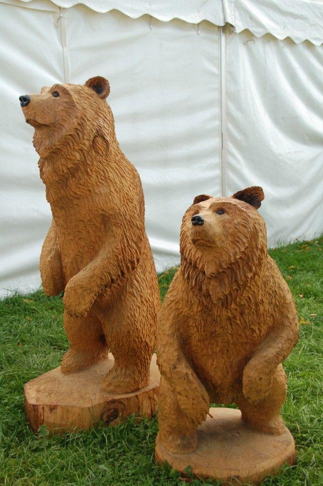 ауг фигуры медведя из дерева своими руками фото ближайшее