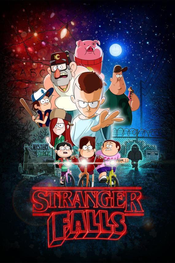 Stranger Falls poster
