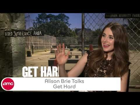 Alison Brie Chats GET HARD found on Endorfyn.