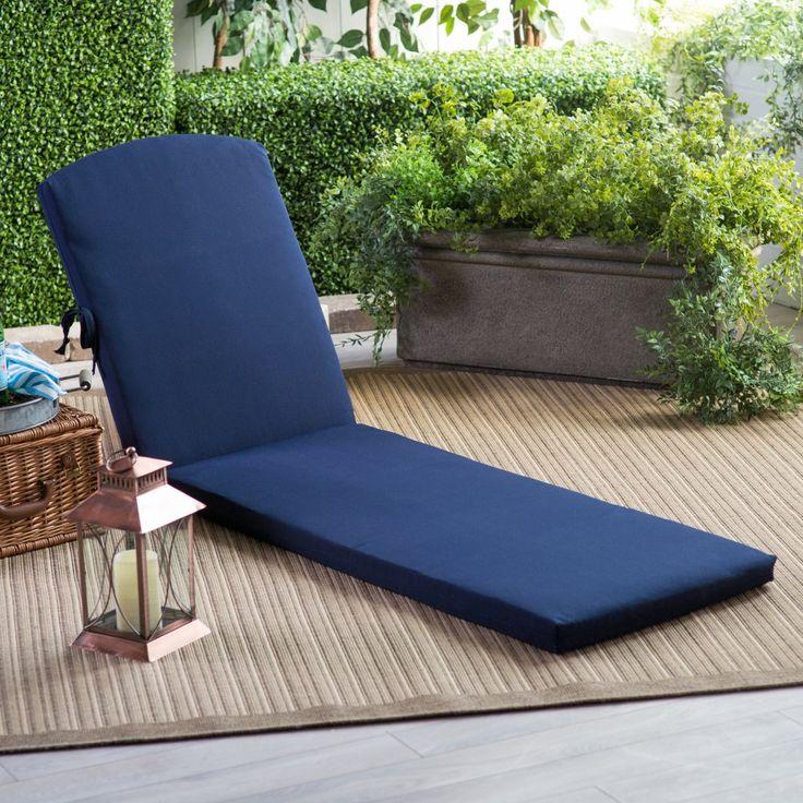 POLYWOOD® 77 x 21.25 Sunbrella Chaise Lounge Cushion