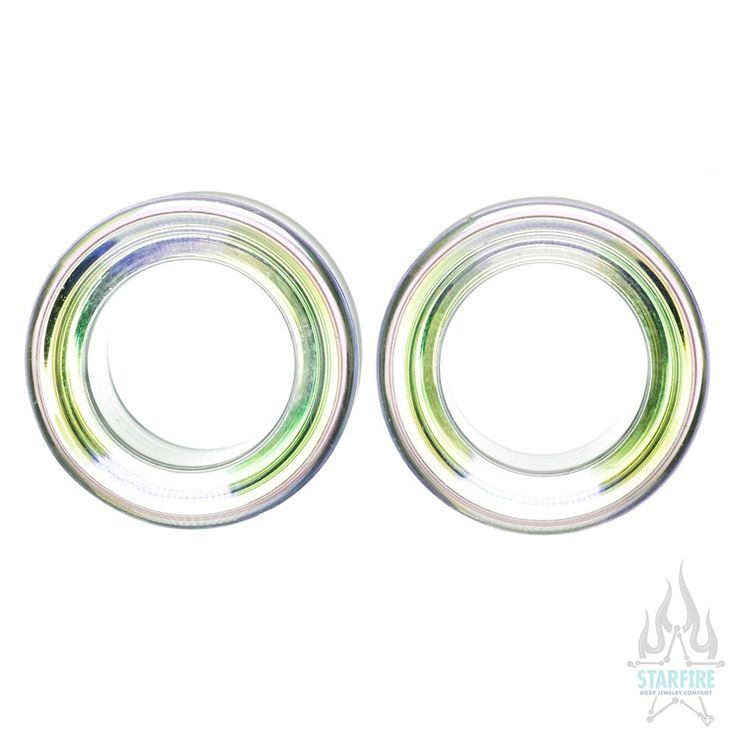 Iridescent Eyelets - Green | Body Jewelry for Body Piercings