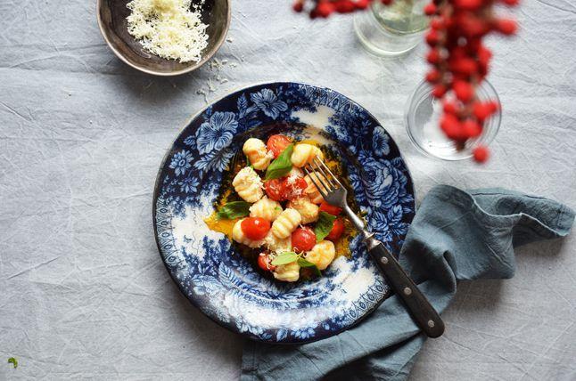 Kublanka vaří doma - Ricottové gnocchi s rajčaty