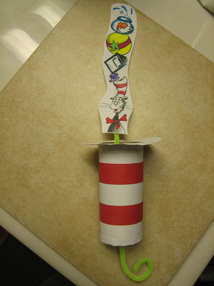 17 best images about theme dr suess day on pinterest for Dr seuss crafts for preschool