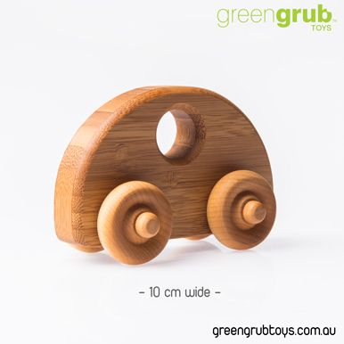 WOODEN TOY CARS - VW BEETLE STYLE