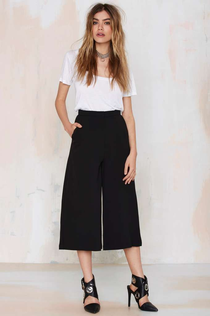 89 best culottes images on pinterest  culottes outfits
