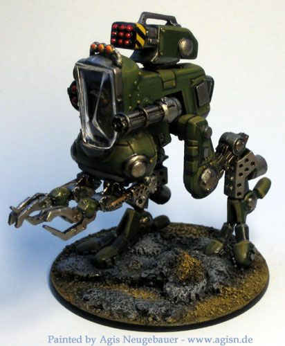 Agis Page of miniature painting and gaming - Starship Troopers