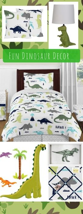 Boys Dinosaur Bedroom Decorating | Stomp Your Way To Prehistoric Times |  Dinosaurs Lovers! |