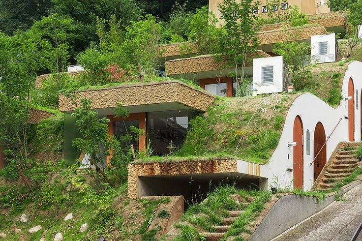 Those with Hobbit fantasies should be all set to fall in love with this Japanese eco apartment complex in the city of Takamatsu. Burrowed into the ground and resembling something from a Peter ...