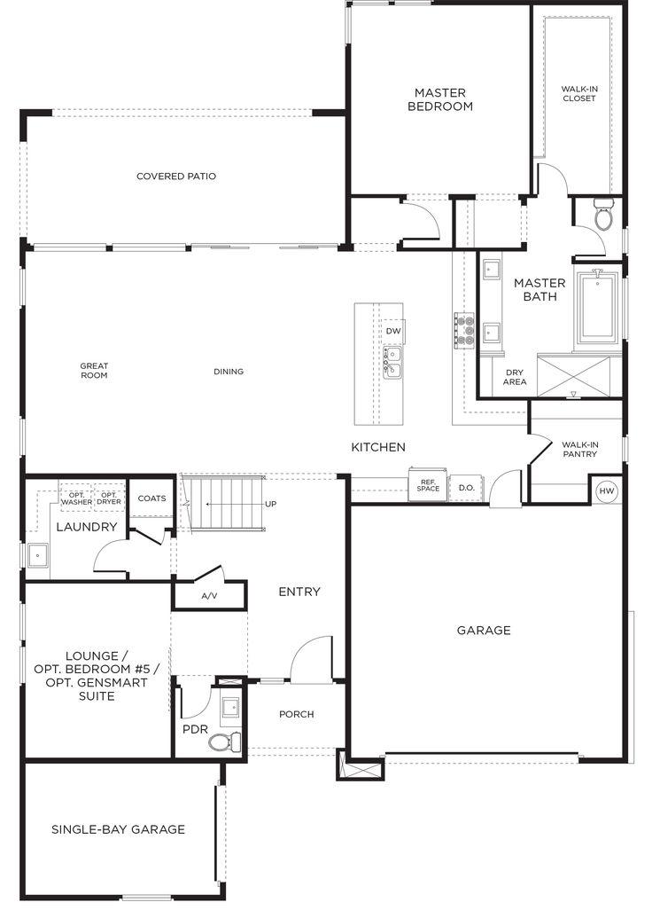 17 best images about las vegas pardee homes on pinterest for Las vegas home floor plans
