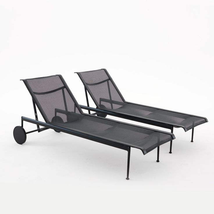 The 1966 collection was first designed by Richard Schultz in 1966 at the request of Florence Knoll, who wanted well-designed outdoor furnishings that would withstand the corrosive salt air at her home in Florida. Through the years, the 1966 Collection has earned a special place in the world of outdoor furniture. http://www.terrazabalear.com/