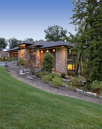 Prairie Style Houses also Frank Lloyd Wrights Usonian Homes as well Home Addition Indiana also Residential Projects 3 in addition Prairie Style Homes. on prairie style home contemporary exterior detroit