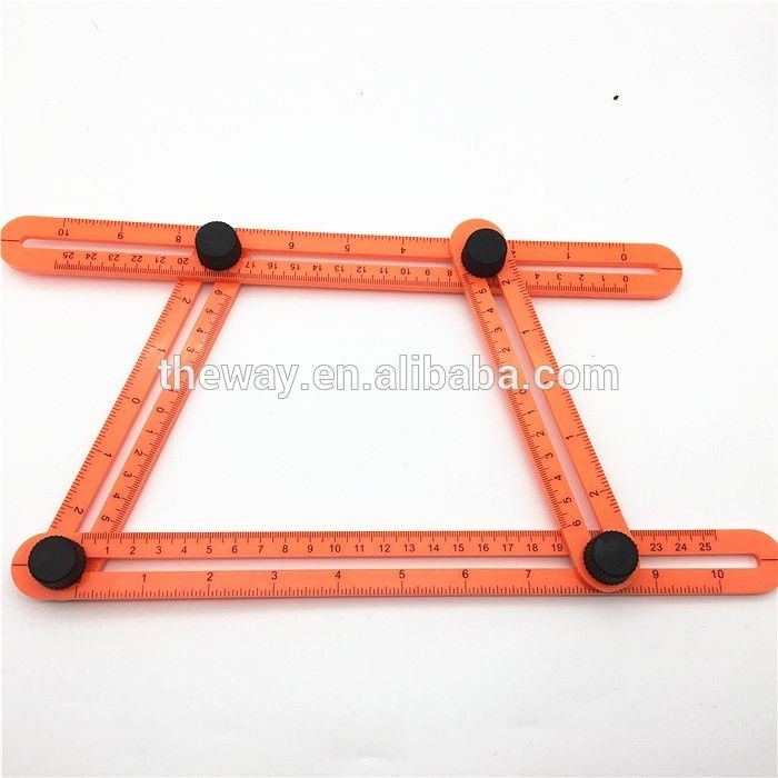 Plastic Template Tool Angleizer All Angles And Forms For All Surfaces Durable - Buy Multi-angle Measuring Ruler,All Angle Template Tool,All Angle Measuring Tool Product on Alibaba.com