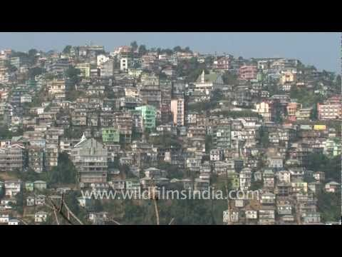 This is Aizawl the capital of Mizoram One of the most beautiful city on earth..