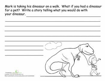 dinosaur story starter writing maps pinterest worksheets school and writing skills. Black Bedroom Furniture Sets. Home Design Ideas