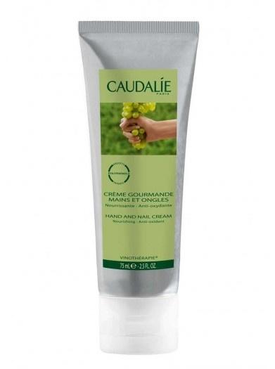 Caudalie hand cream, smells like grapes...so clean and fresh