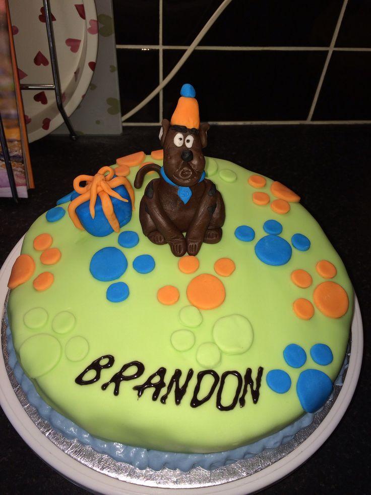 Scooby doo chocolate cake