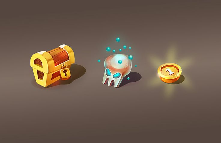 Game graphics on Behance