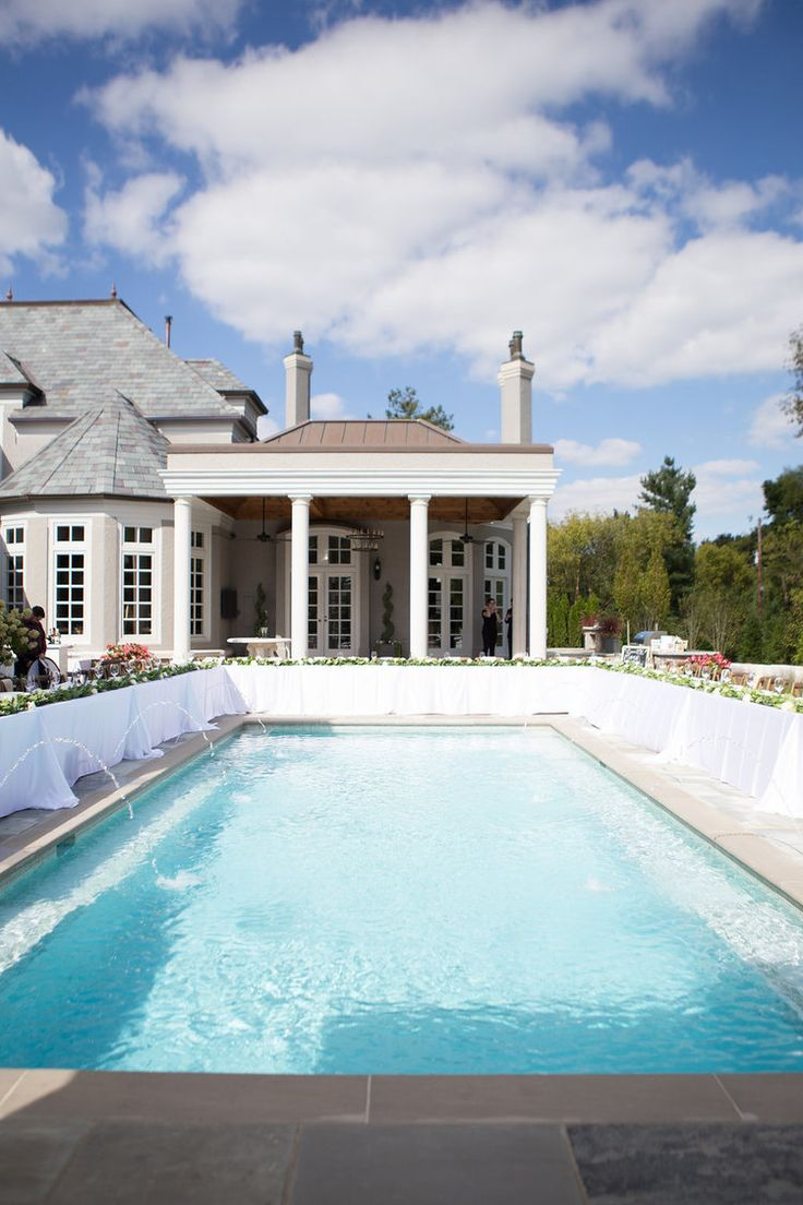 Best 25 Backyard Wedding Pool Ideas On Pinterest Pool