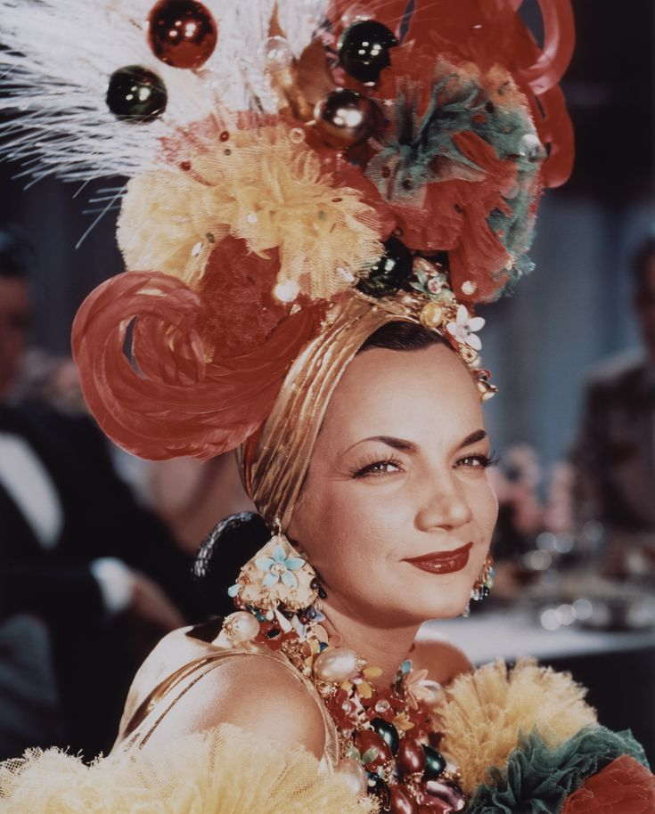 Carmen Miranda - modest millinery