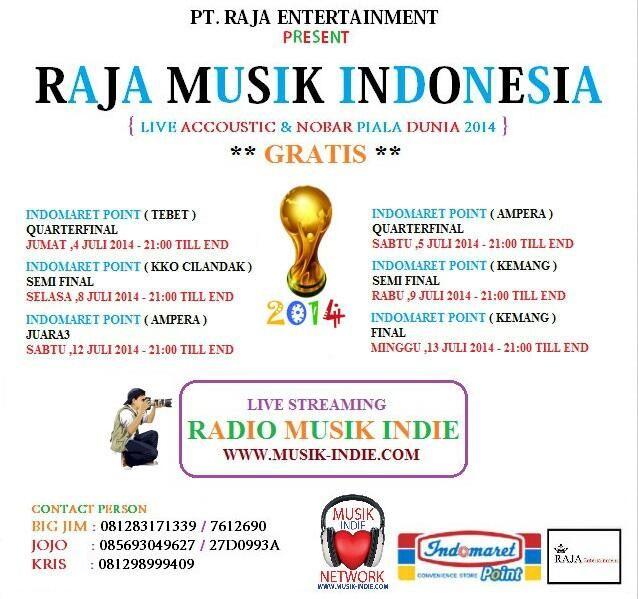 Live Akustik & Nobar Piala Dunia 2014