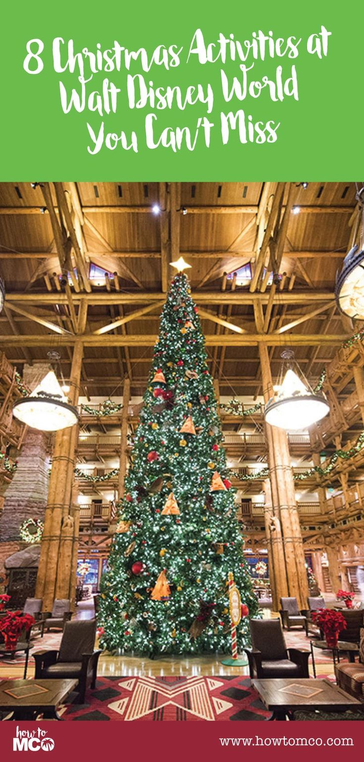OMG! This is perfecting for planning a winter trip to Disney World in Orlando Florida. 8 Christmas Activities at Walt Disney World You Can't Miss