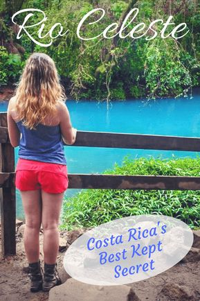 Rio Celeste - Tenorio Volcano National Park - Rio Celeste Waterfall