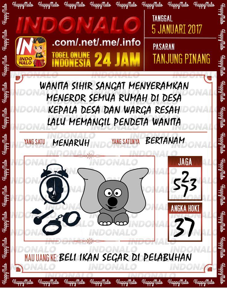 Kode Main 6D Togel Wap Online Live Draw 4D Indonalo Tanjung Pinang 5 Januari 2017