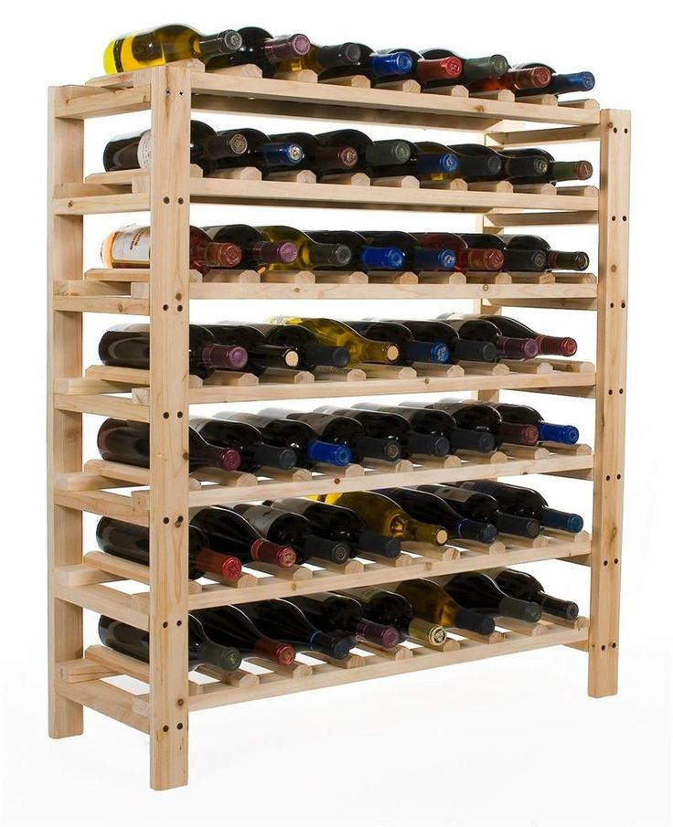 1000 Ideas About Homemade Wine Racks On Pinterest