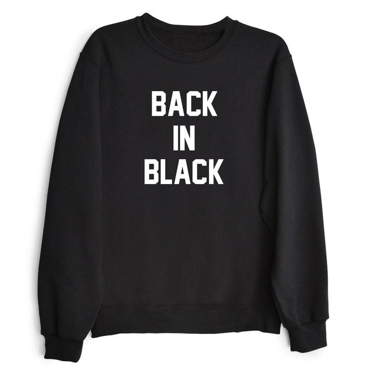 BACK IN BLACK Wom... http://www.jakkoutthebxx.com/products/back-in-black-womens-casual-black-gray-white-crewneck-sweatshirt?utm_campaign=social_autopilot&utm_source=pin&utm_medium=pin #alloverprint #mall #style #trending #shoppingaddict  #shoppingtime #musthave #onlineshopping #new
