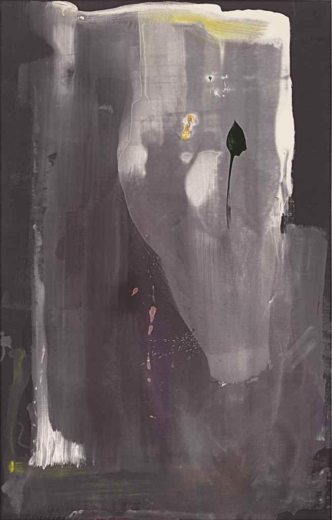 Helen Frankenthaler, Portrait of Margaretha Trip, 1980, acrylic on canvas, 90 x 57 inches