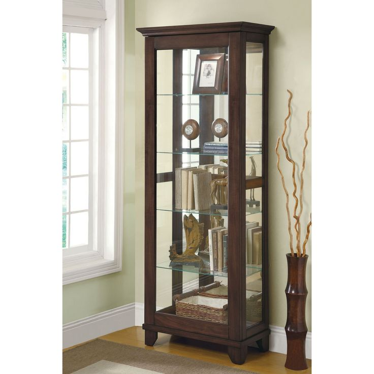 Coaster Furniture Crenshaw Curio Cabinet - 950187