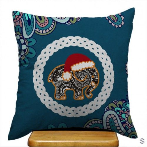 Sell Ivory Ella Paisley Best Black And White Custom Pillow Case Cheap $23.83