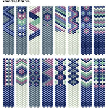 carrier bead patterns - Google Search