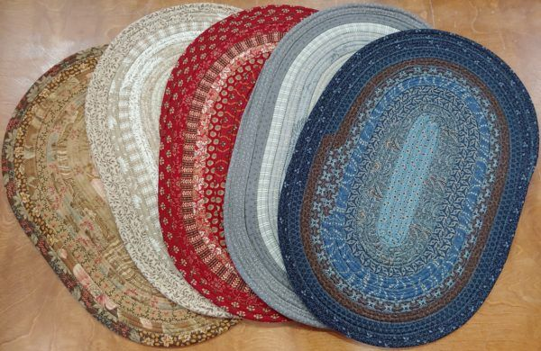 Jelly Roll Placemats The Woolen Needle Rug Pattern Rag Rug Jelly Roll