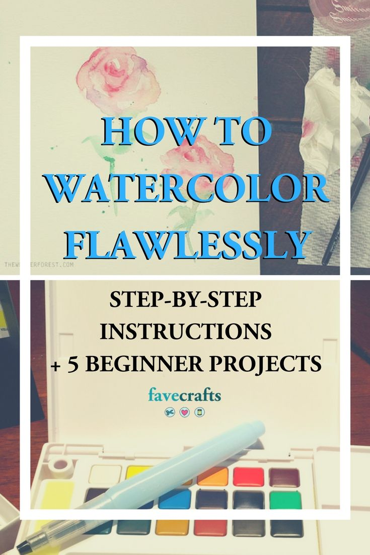 Learn How To Watercolor Like A Pro With This Helpful How To Our