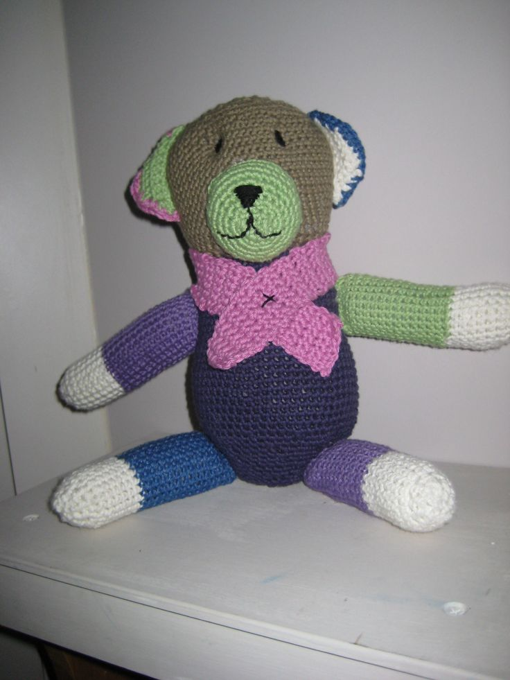 Fun to make this bear... A friend helped me get the face right