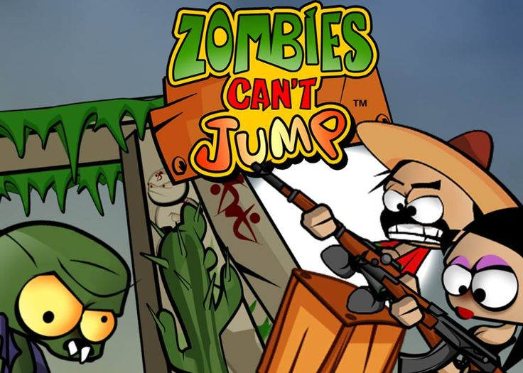 Zombies Can't Jump: Grab your weapons and construction kit! Challenge and fun is awaiting you in this original, nail hammering zombie defense game. Don't let the zombies knock you down, click & play!