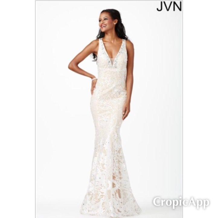 GORGEOUS Bridal Gowns coming in this week.  This Jovani Gown is New With Tags Size 8 & only $175.00 Designer Consigner Boutique 6329 S. Mooresville Road Indianapolis, IN 46221 317-856-6370 317-979-9628-Text Option #Indiana #Indianapolis #Indy #Brides #Bridals #Weddings #WeddingGowns #BridalGowns #DesignerConsignerBoutique