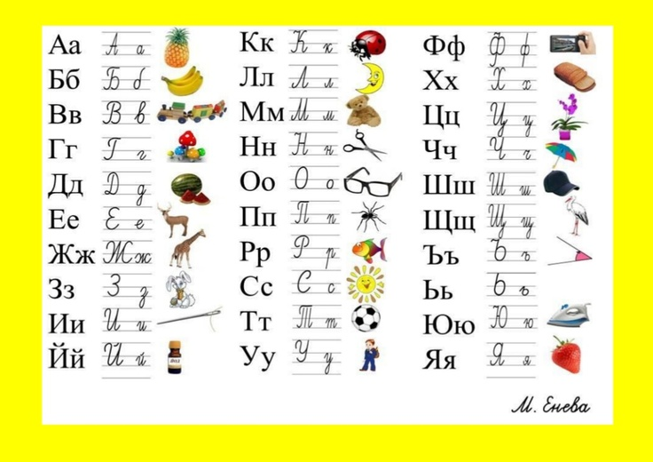 картинна азбука