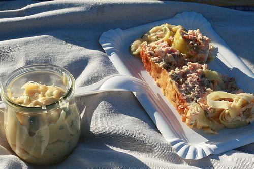 Terrine de saumon & mayonnaise