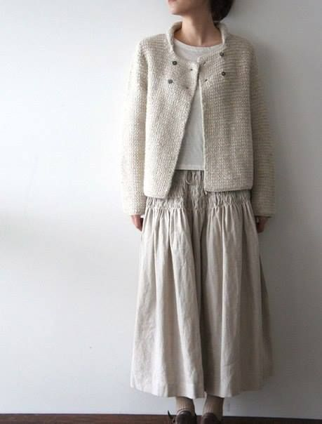 Love the cardigan. Recreate in woven? Similar to the children's Oliver and S Sunday Brunch jacket.