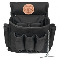 PowerLine 18-Pocket Electrician's Tool Pouch - 5719 | Klein Tools