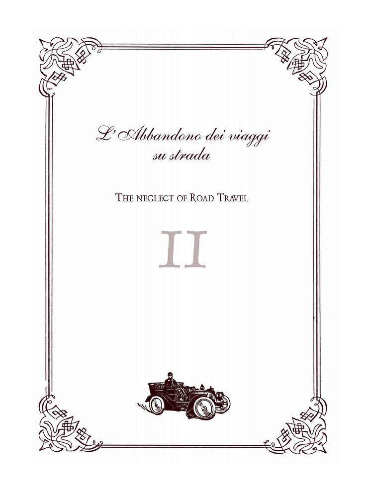 Gli inizi dei capitoli del libr: tra poco pubblicheremo il sommario....