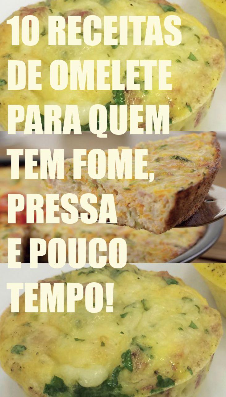 10 receitas de omelete para quem tem fome, pressa e pouco tempo Tudo ovo, mas não tudo igual!