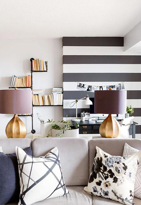 Easy Stripe wall decals | Removable Wall Stripes | WallsNeedLove