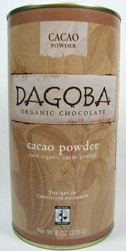 Dagoba Organic Chocolate Fair Trade Certified Cacao Powder 8 Ounce - http://goodvibeorganics.com/dagoba-organic-chocolate-fair-trade-certified-cacao-powder-8-ounce/